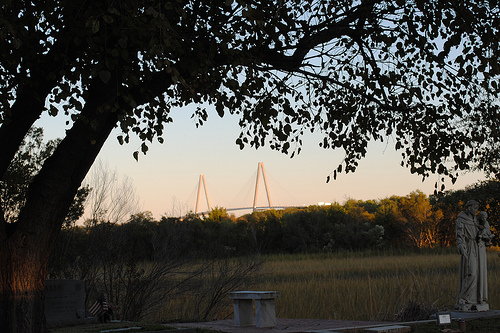 Cooper River Bridge viewed from St, Lawrence
