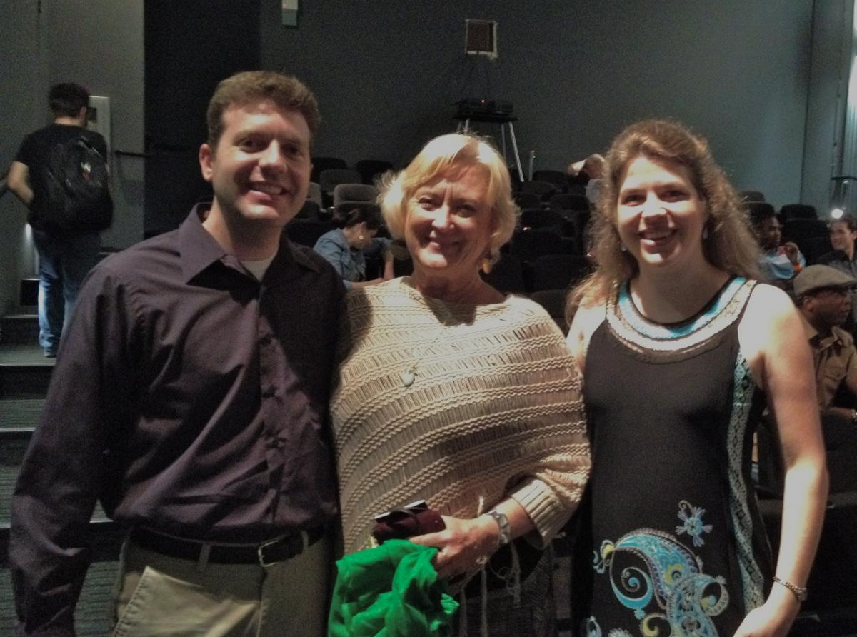 Brian Rish, Sandra Lafferty, Jocelyn Rish at Indie Grits Film Festival
