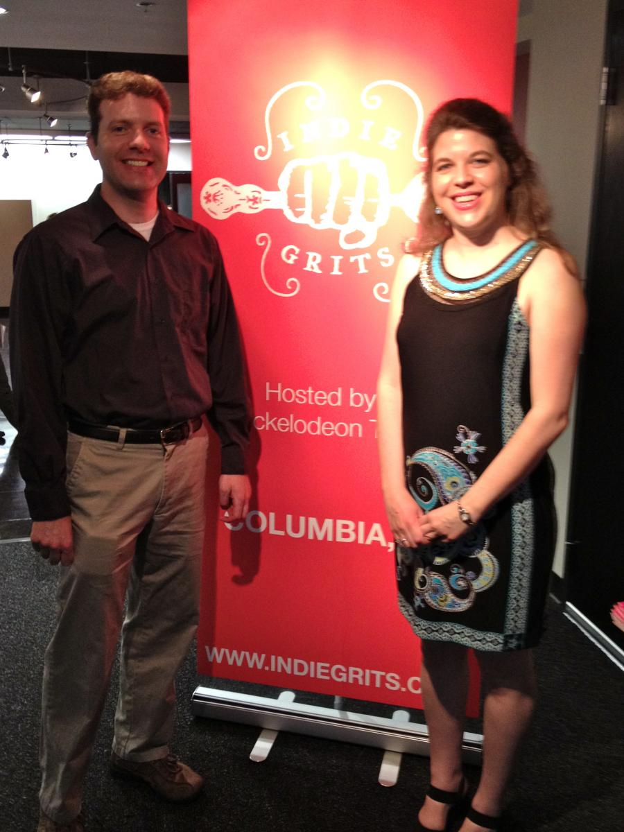 Brian Rish and Jocelyn Rish at Indie Grits Film Festival