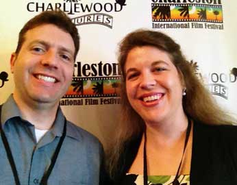 Brian and Jocelyn Rish at Charleston International Film Festival