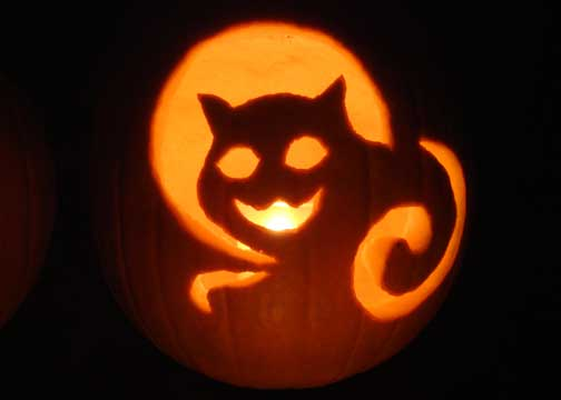 Death Cat Pumpkin